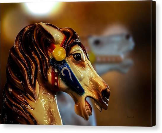 Mardi Gras Canvas Print - Painted Pony  by Bob Orsillo