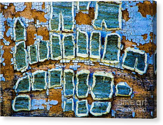 Painted Windows Number 2 Canvas Print