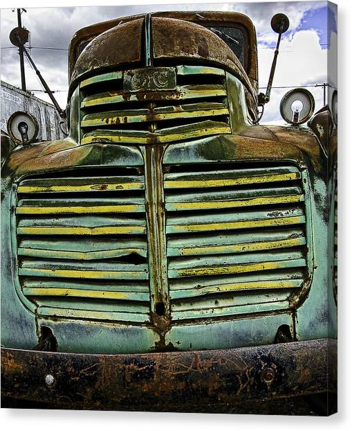 Painted With Rust Canvas Print