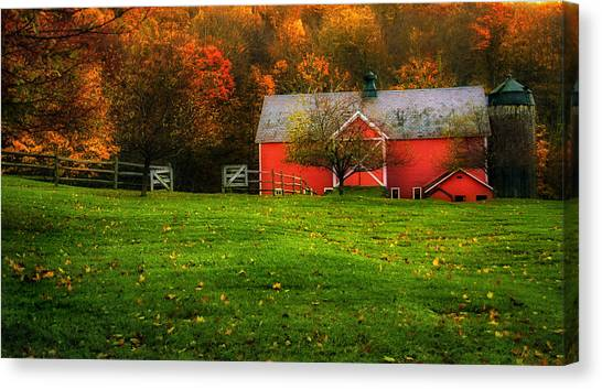Autumn Dreams - Dorset Vermont Canvas Print