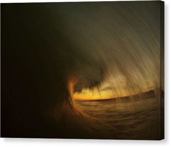 Painting With Light Canvas Print by Daniel Rainey