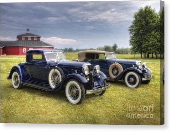 Collectors Corner Canvas Print - Pair Of Lincolns by Timothy Hacker