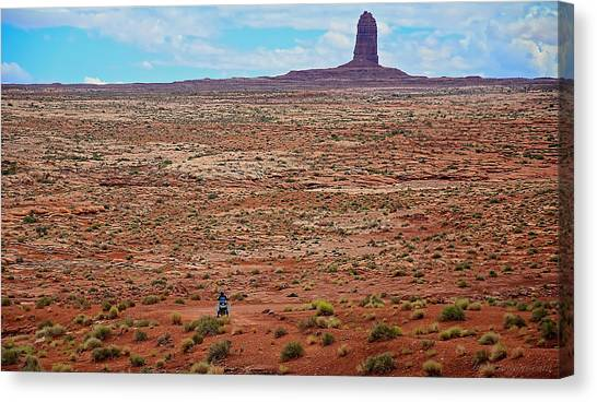 Paiute Road Canvas Print