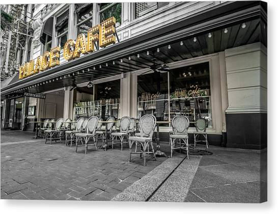 Palace Cafe In New Orleans 2 Canvas Print