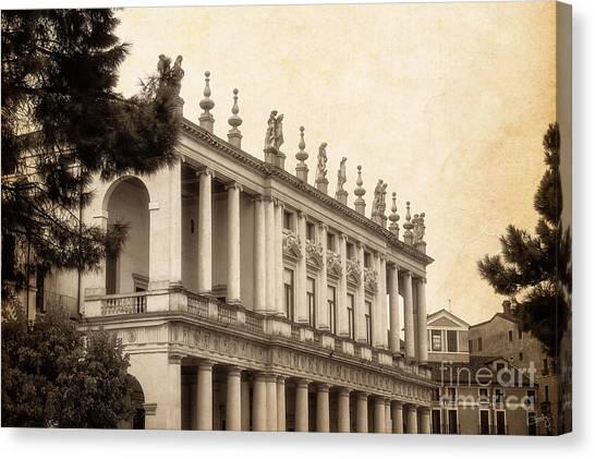 Palazzo Chiericati Canvas Print