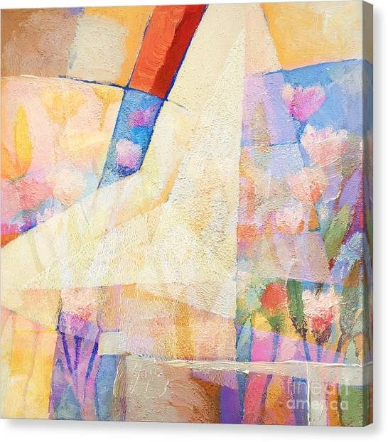 Colorplay Canvas Print - Pale Colorplay by Lutz Baar