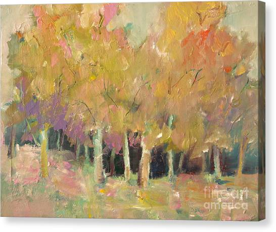 Pale Forest Canvas Print