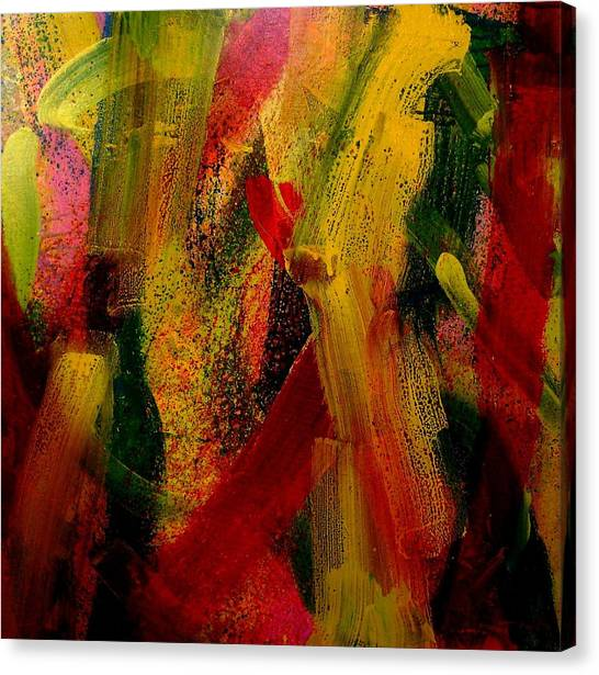Post-modern Art Canvas Print - Palimpsest 52 by John  Nolan