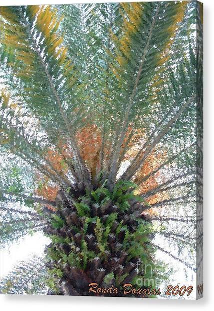 Palm Art Canvas Print