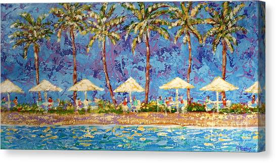 Palm Beach Life Canvas Print