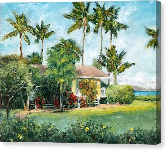Mauna Loa Canvas Print - Palm Cottage by Stacy Vosberg