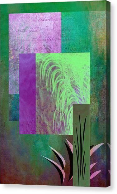 Frank Stella Canvas Print - Palmier by Linda Dunn