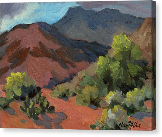 Verde Canvas Print - Palo Verdes In Bloom by Diane McClary