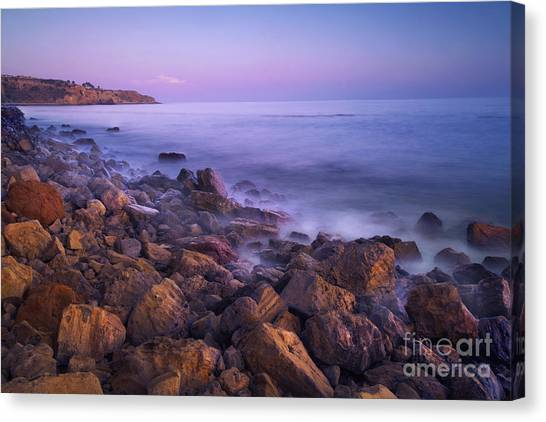 Verde Canvas Print - Palos Verdes Evening by Marco Crupi