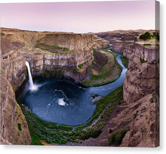 Palouse Falls Canvas Print