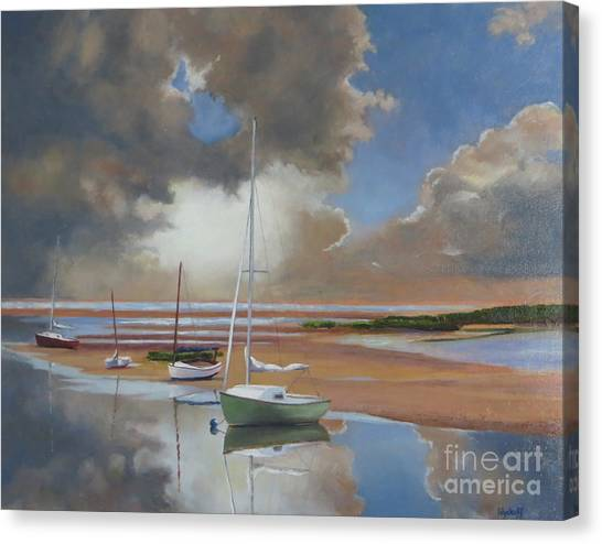 Pamet Harbor Inlet Canvas Print