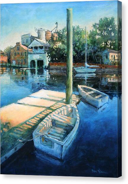 Pamlico Morning Canvas Print