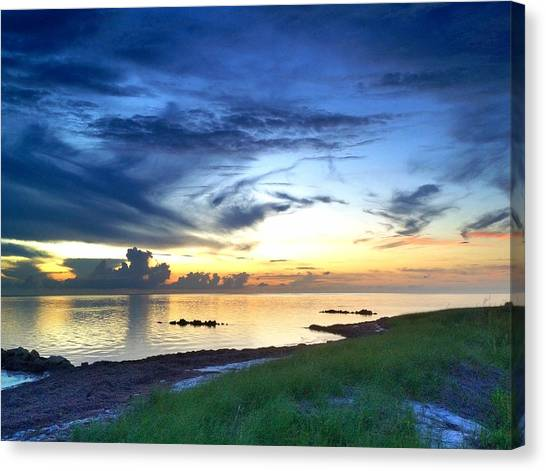 Pamlico Sunset Canvas Print