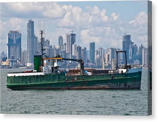 Panama Cityscape Canvas Print