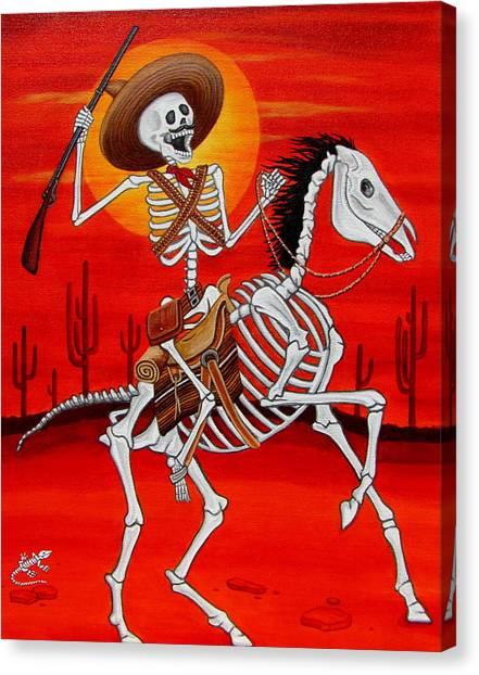 Pancho Villa Canvas Print