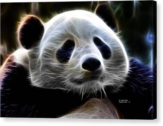 Panda - 4934 - F Canvas Print by James Ahn