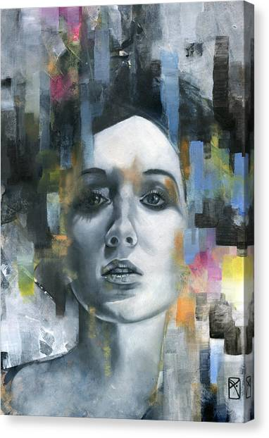 Portrait Canvas Print - Pandora by Patricia Ariel