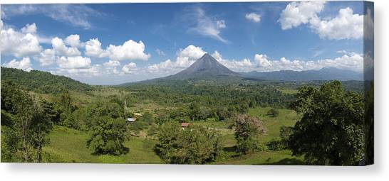 Arenal Volcano Canvas Print - Panorama Arenal by Andy-Kim Moeller
