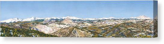 Colorado Canvas Print - Panorama From Flagstaff Mountain by Anne Gifford