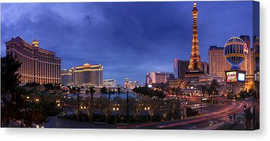 Panorama Of Las Vegas Canvas Print