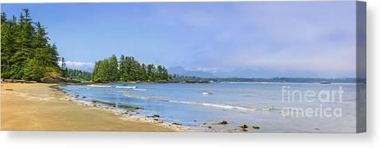 Vancouver Island Canvas Print - Panorama Of Pacific Coast On Vancouver Island by Elena Elisseeva