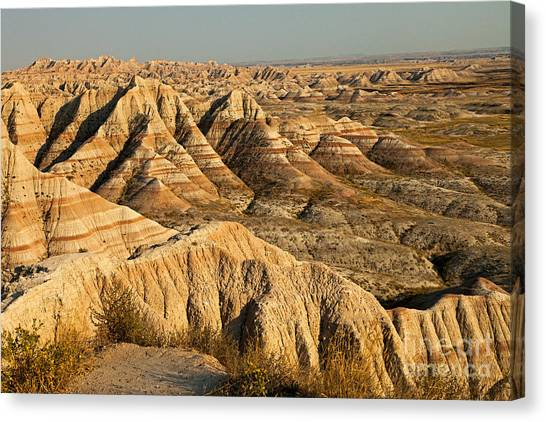 Panorama Point Badlands National Park Canvas Print