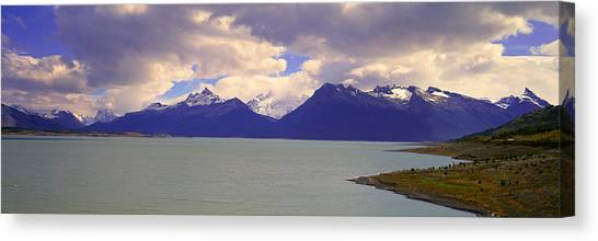 Perito Moreno Glacier Canvas Print - Panoramic View Near Perito Moreno by Panoramic Images