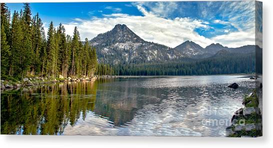 Sublime Canvas Print - Panoramic View Of Anthony Lake by Robert Bales