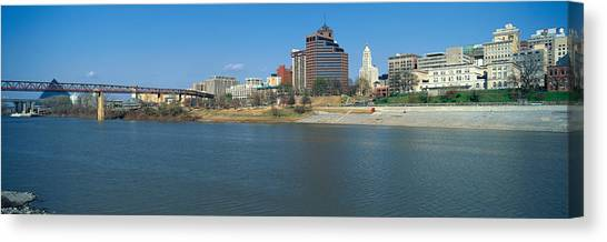 Memphis Grizzlies Canvas Print - Panoramic View Of Mississippi River by Panoramic Images
