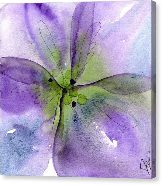 Pansy 1 Canvas Print