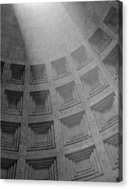 Pantheon Ceiling Canvas Print