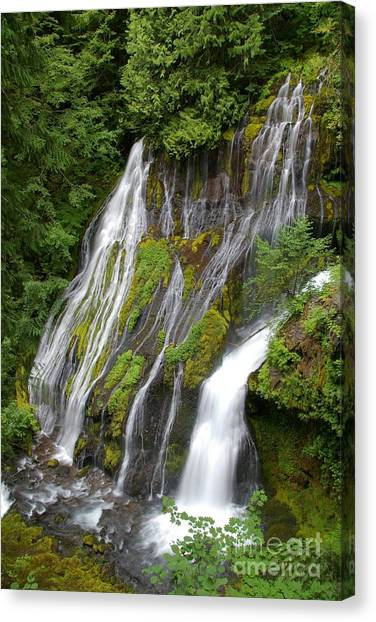 Panther Creek Falls 2- Washington Canvas Print