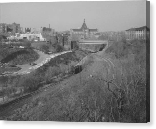 Carnegie Mellon University Canvas Print - Panther Hollow Pittsburgh Pa by Joann Renner