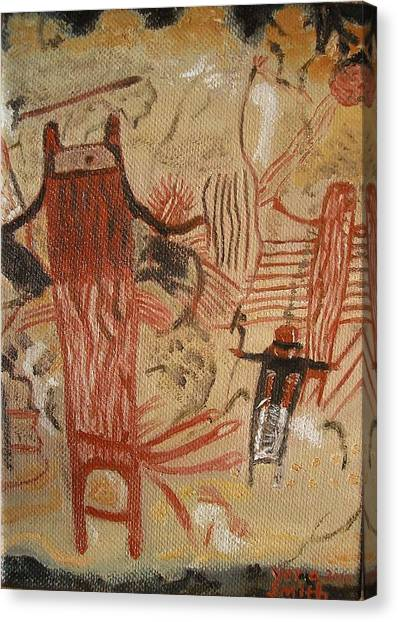Panther Shaman  Canvas Print