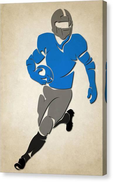 Carolina Panthers Canvas Print - Panthers Shadow Player by Joe Hamilton