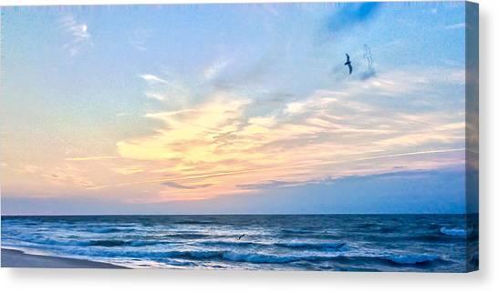 Paraclete At Sunrise  Canvas Print
