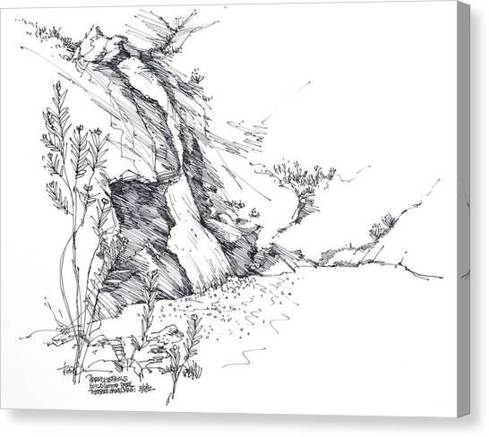 Paradise Falls Thousand Oaks California Canvas Print