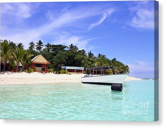 Fiji Canvas Print - Paradise For Dream Vacation by Lars Ruecker