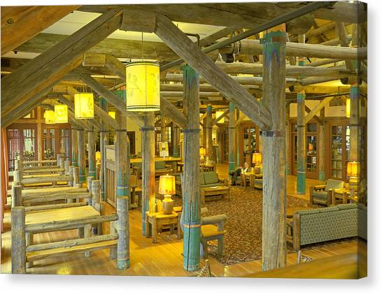 Paradise Inn Lobby Canvas Print