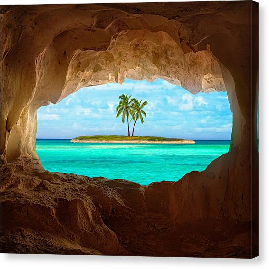 Tree Canvas Print - Paradise by Matt Anderson
