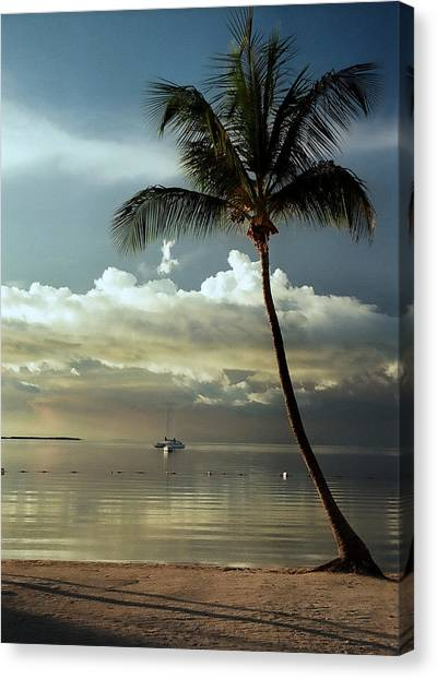 Paradise Reflections.. Canvas Print