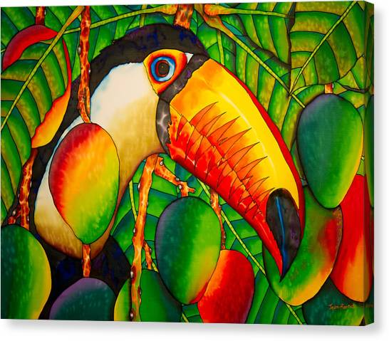 Paradise Toucan Canvas Print