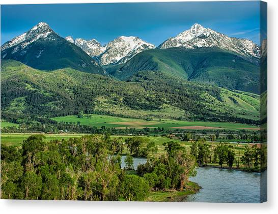 Paradise Valley Canvas Print