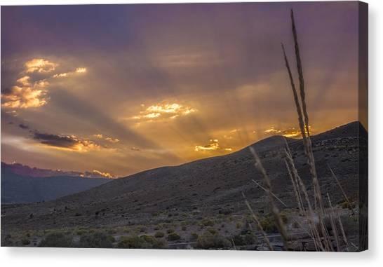 Desert Sunsets Canvas Print - Paramount by Jeremy Jensen