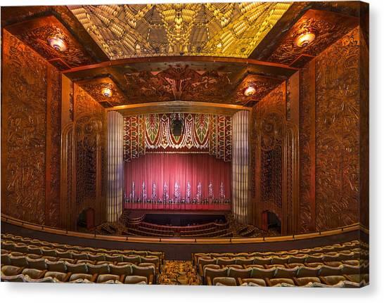 Theatre Lighting Canvas Print - Paramount Theatre - Oakland California by Mountain Dreams & Theatre Lighting Canvas Prints | Fine Art America